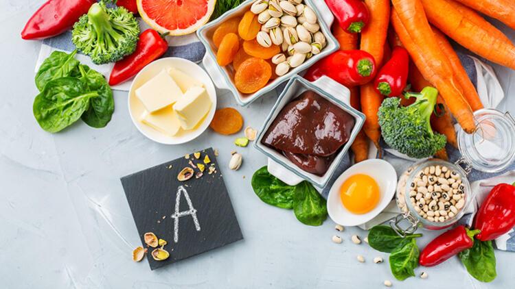 a vitamini, a vitamininin faydaları, a vitamini nelerde vardır